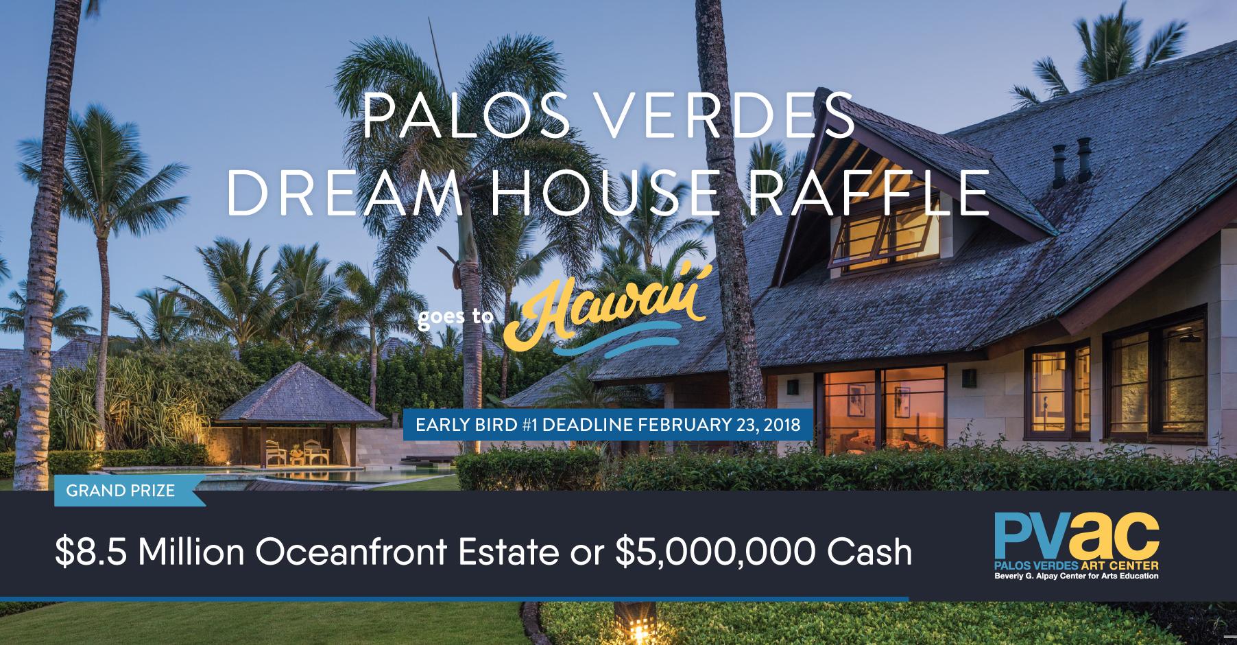 Palos verdes dream house raffle benefiting palos verdes for Dream house website